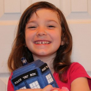 My Four Year Old With TARDIS